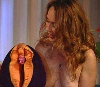 Above: Cora Emens teaching taoist erotic massage.