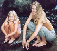 Susan Stone with daughter Caroline