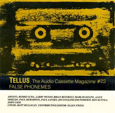 Tellus#22 cover