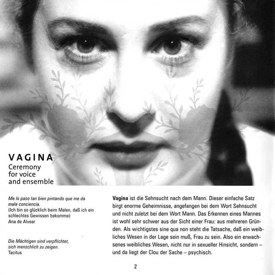 Maria De Alvear 'Vagina'