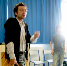 Lionel Marchetti during workshop