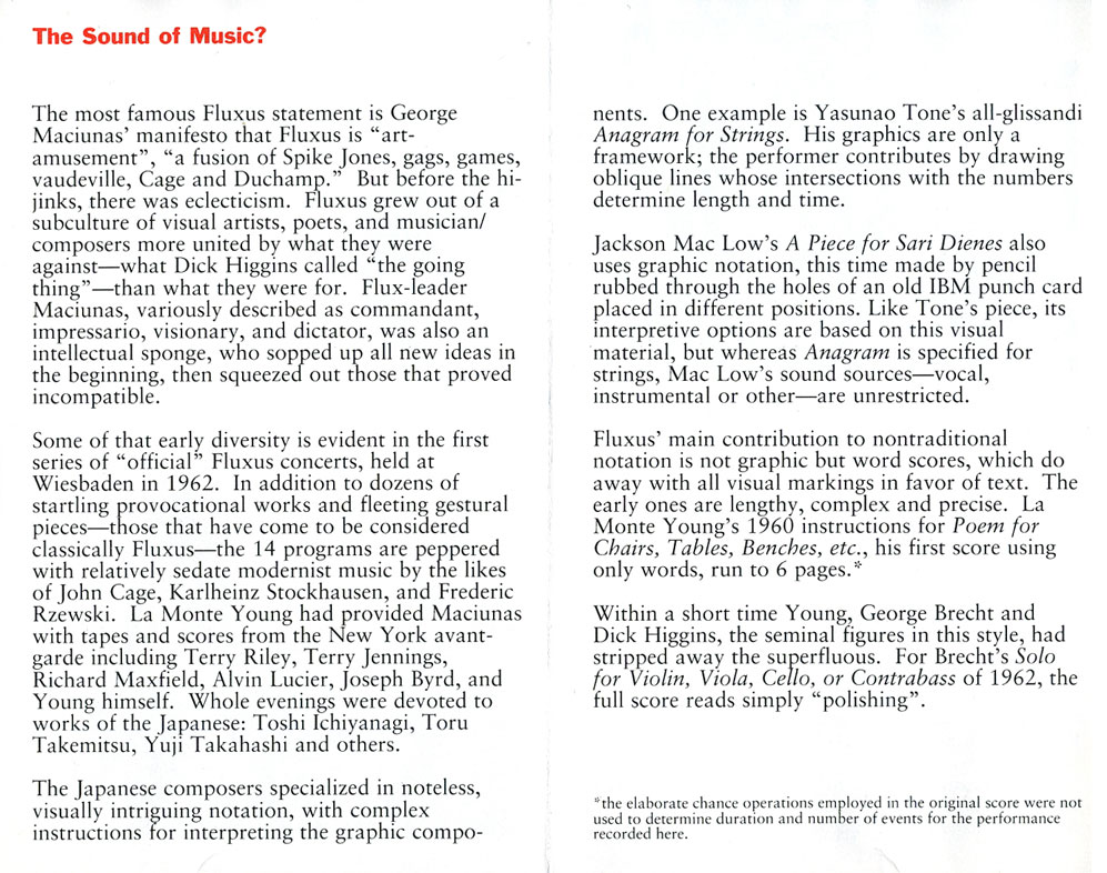 sounds of music essay The following essay is excerpted from the latest issue of n+1 magazine   communing with music, our neurotic search for the right sound, the.