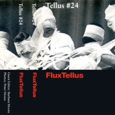 Tellus #24 front-cover (picture shows a Yoko Ono performance, 1965)