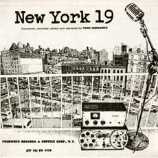 Front cover of the 'New York 19' LP