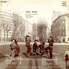 'Riga Raga' back cover