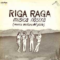 'Riga Raga' front cover