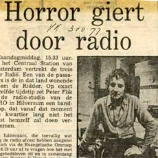 1977 'Deathly Fear Therapy' radio horror play