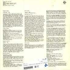 Inventionen II LP info