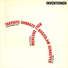 Inventionen II LP cover