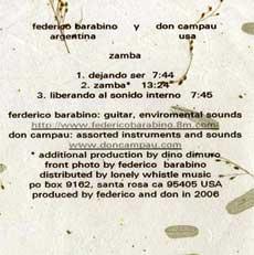 Zamba info