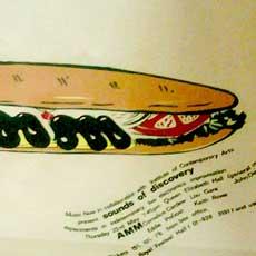 AMM concert poster ca.1970