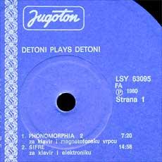 Detoni plays Detoni strana 1
