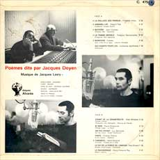 Doyen/Lasry LP back cover