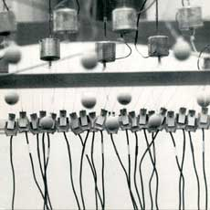 Paul Panhuysen's sound installation