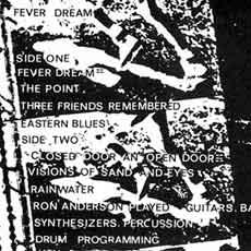 Fever Dream LP back