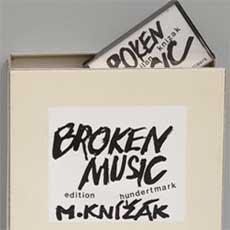 Milan Knížák 'Broken Music' box set