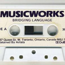 Musicworks #38 side A