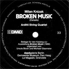 'Broken Music (details)' flexi disc