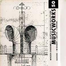 Musicworks #50, magazine cover
