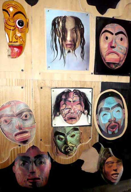 Arthur Lyman's Taboo? No, Pierre Henry's masks
