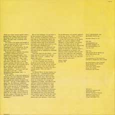 LP liner notes