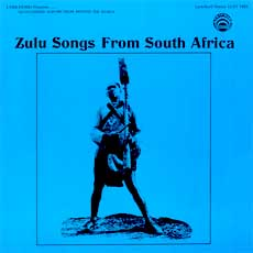 Zulu Songs LP cover