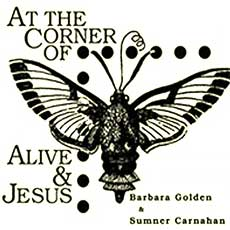 'At The Corner of Alive and Jesus' handbill