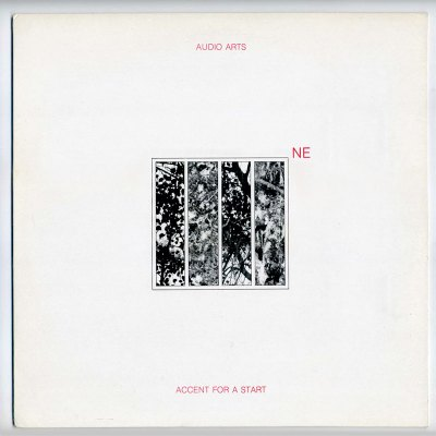Audio Arts 'Accent for a Start' LP front cover