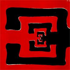 E 'Live' LP front cover