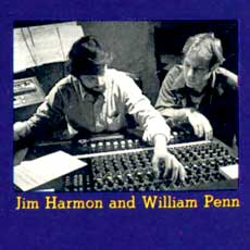 Producer Jim Harmon with composer William Penn