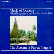 'Music of Oceania' LP cover