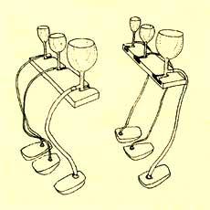 Verres Enharmoniques special tuned glasses