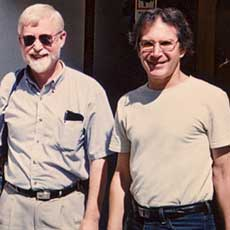 Barry Truax with Wayne Siegel, 2003