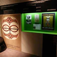 Paris, Quai Branly exhibition, 2009