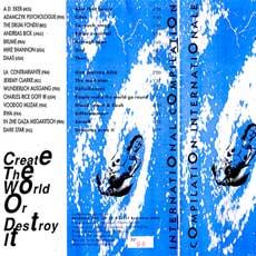 'Créer le Monde ou le Détruire' booklet