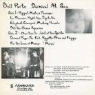 Doll Parts 'Carnival At Sea' LP back cover