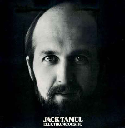 Jack Tamul 'Electro/Acoustic' front cover