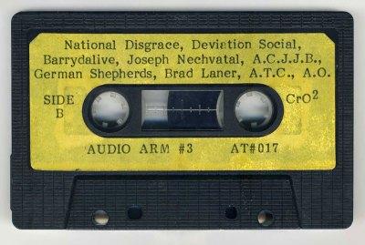 Audio Arm #3 side B