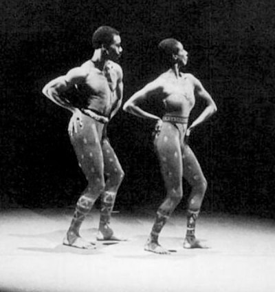 'Hidden Rites', staged by the Alvin Alley dance company, 1973