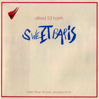 Alfred 23 Harth 'Sweet Paris' CD front cover