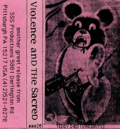 Teddy Died (Sincerity) cassette front picture