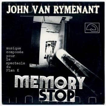 John Van Rymenant 'Memory Stop' LP front
