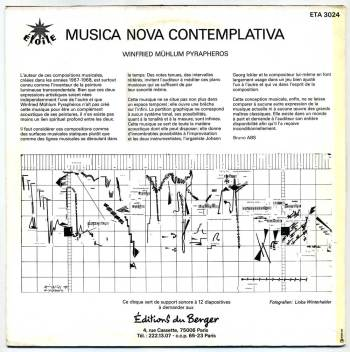 'Musica Nova Contemplativa' LP back