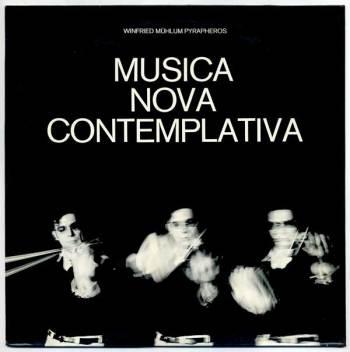 'Musica Nova Contemplativa' LP front