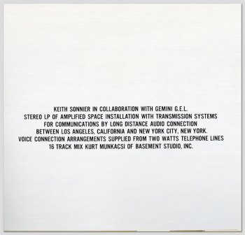 Air to Air LP back cover