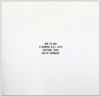 Air to Air LP front cover