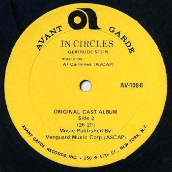 In Circles LP side B