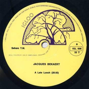 Jacques Bekaert LP side A