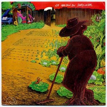 La Maison du Jardinier LP front cover