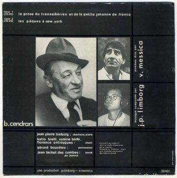 Le Transsibérien LP back cover